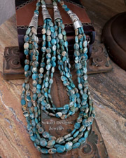 Schaef Designs Aqua Terra Multi Strand Necklace Set | New Mexico