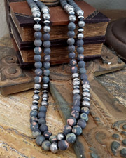 Schaef Designs Southwestern Basics Cherry Blossom Jasper Necklaces | Arizona