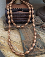Schaef Designs LONG Copper Southwestern Wrapping Necklace | New Mexico