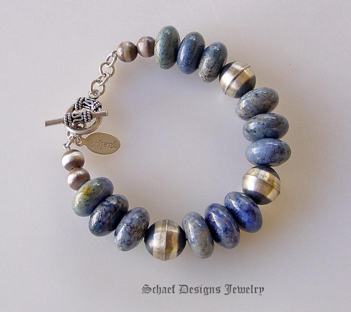 Multi Strand Glass Bead Bracelet Design Idea
