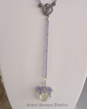 Schaef Designs Prasiolite, tanzanite & sterling silver  gemstone bracelet | New Mexico