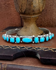 Sterling Silver Native American Stacking Bracelets | Schaef Designs | New Mexico