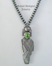 Anthony Lovato medium Spirit Maiden Pendant Pin | New Mexico